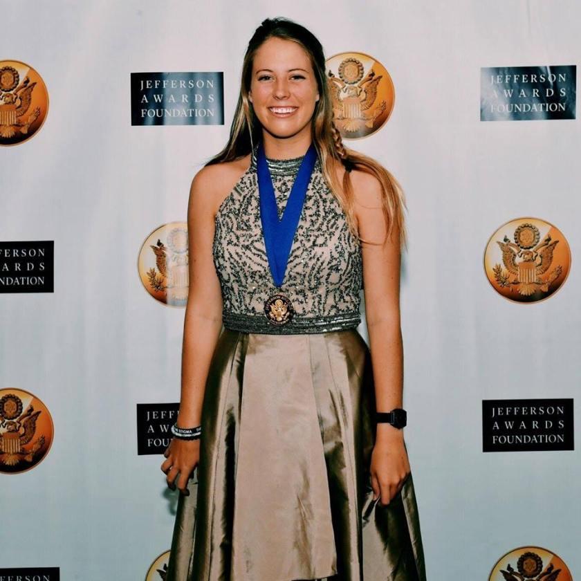 Spotlight on the Collegiate Volunteer of the Year: Emily Torchiana