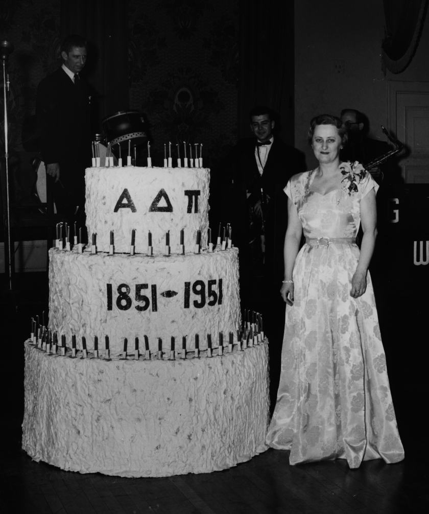 Miss Blake cake 1951 convention